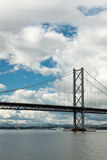 The Forth Bridge, South Queensferry near Edinburgh Royalty Free Stock Images