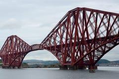 Forth Bridge, South Queensferry, Scotland. Forth Bridge in South Queensferry, Scotland Stock Photos