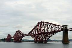 Forth Bridge, South Queensferry, Scotland. Forth Bridge in South Queensferry, Scotland Stock Photography