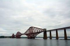 Forth Bridge, South Queensferry, Scotland. Forth Bridge in South Queensferry, Scotland Stock Images