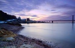 Forth Bridges, Edinburgh Royalty Free Stock Photo