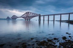 Forth bridges in Edinburgh Stock Image