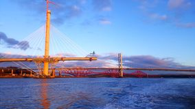 Forth bridges Stock Photos