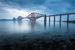 Forth bridges in Scotland Royalty Free Stock Image