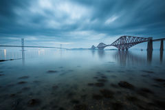 Forth bridges in Scotland Stock Photos