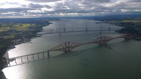 Forth Bridges View Stock Photography