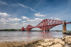 Forth Cantilever Bridge Stock Image