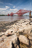 Forth Cantilever Bridge portrait Stock Photos