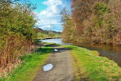 Forth and Clyde Canal Stock Photos
