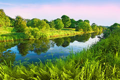 Forth and Clyde Canal, Scotland Royalty Free Stock Photos