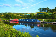 Forth and Clyde canal, Scotland Royalty Free Stock Photography