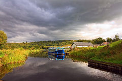 Forth & Clyde Canal, Scotland Royalty Free Stock Photography
