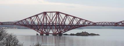 The Forth Rail Bridge Scotland royalty free stock photos