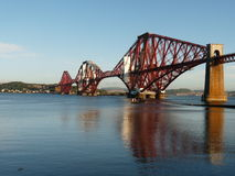 Forth of Firth railway bridge Stock Photography