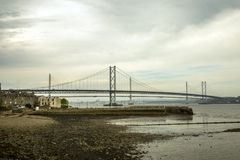 Forth of firth road bridge Royalty Free Stock Photo