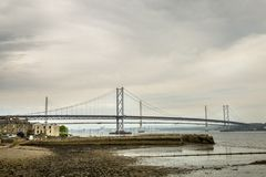 Forth of firth road bridge Stock Images
