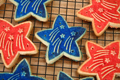 Forth of July Cookies Stock Photography
