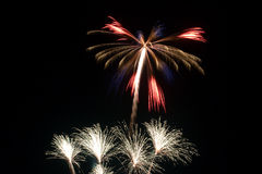 Forth of July Fireworks Stock Photo
