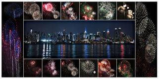 Forth of July New York City Stock Photography