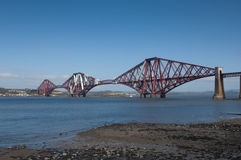 Forth Rail Bridge Royalty Free Stock Photography