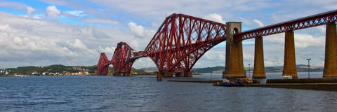 Forth Rail Bridge Royalty Free Stock Images