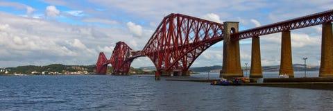 Forth Rail Bridge Royalty Free Stock Images