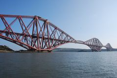 Forth Rail Bridge Royalty Free Stock Image