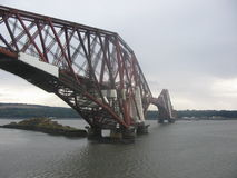 Forth Rail Bridge. Scotland Royalty Free Stock Photo