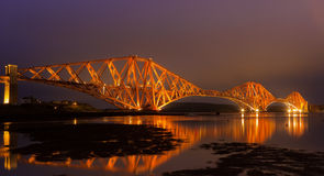 The Forth Rail Bridge Royalty Free Stock Image