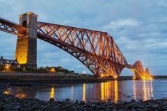 Forth Rail Bridge. Edinburgh Royalty Free Stock Photography