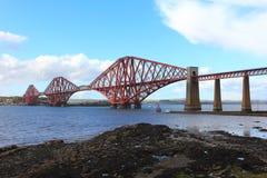 Forth rail bridge Royalty Free Stock Photo