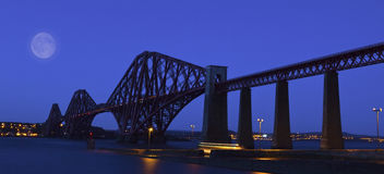 The Forth Rail Bridge , Scotland Royalty Free Stock Images
