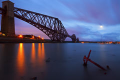 The Forth Rail Bridge , Scotland Royalty Free Stock Photography