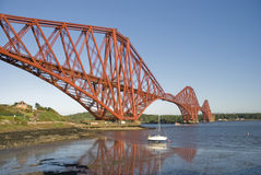 Forth Rail Bridge Royalty Free Stock Photo