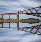 Forth Rail Bridge Scotland Royalty Free Stock Images