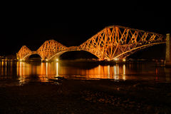 Forth Rail Bridge, Scotland, UK Stock Photography