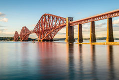Forth Rail Bridge, Scotland, UK Royalty Free Stock Images