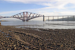 The Forth Rail Bridge Royalty Free Stock Photo