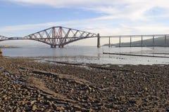 The Forth Rail Bridge Royalty Free Stock Photo