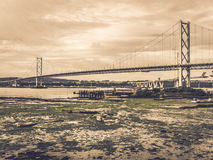 Forth Rail Bridges Royalty Free Stock Photos