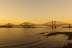 The Forth Railway Bridge. Royalty Free Stock Image