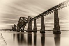 Forth Railway Bridge  in Edinburgh, United Kingdom Stock Photos