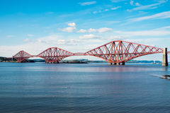 The Forth railway bridge Stock Image