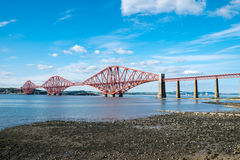 The Forth Railway Bridge, Scotland Stock Images