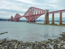 The Forth Railway Bridge, Scotland Stock Photo