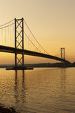 Forth road bridge. Stock Photo