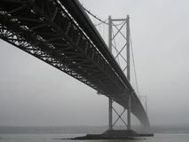 Forth Road Bridge, Edinburgh. Scotland Stock Images