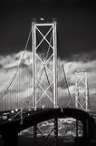 The Forth Road Bridge, Edinburgh, Scotland Stock Photography