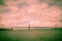 The Forth and Road Bridge Stock Images