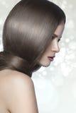 Forti capelli sani Fotografia Stock Libera da Diritti